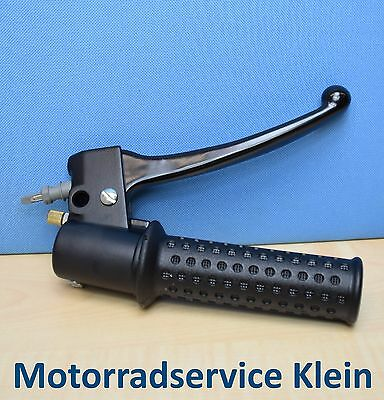 Genuine GILERA STORM 50 TWIST GRIP THROTTLE Complete Grip Right Brake Lever Gas