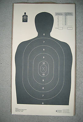 CCT B34-R SilhouetteTargets NSN 6920-21-910-3227 Pack of 200