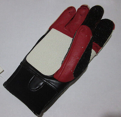 Small Right Hand Sauer 325 Strong Close Fingers Leather Shooting Glove