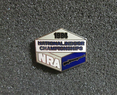 1984 NRA National Indoor Championships Rifle Pin