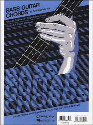 Bass Guitar Chords Chart Chord, Scales & Fingerboard Chart Plus 2-5-1 Changes