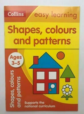 New Collins Easy Learning Fractions Maths Skills Workbook Children Ages 5-7  KS1