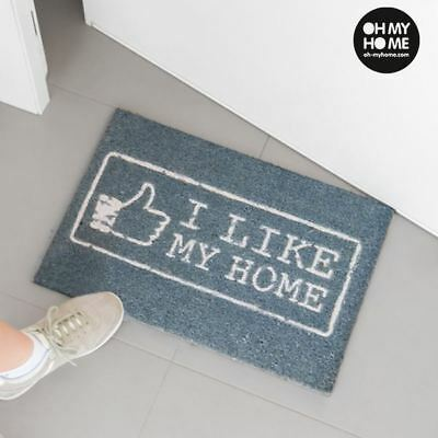 Paillasson Like Oh My Home 60 x 40 x 2 cm