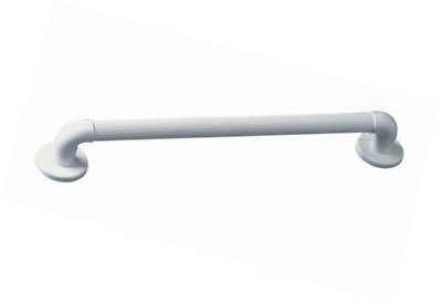 Homecraft AA6061F Plastic Fluted/Ribbed Safety Grab Rail - 18 inch/45 cm, White