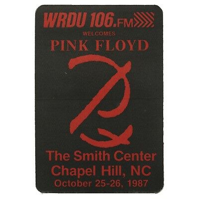 Pink Floyd Authentic 1987 Momentary Lapse of Reason tour Promo Backstage Pass