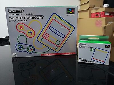 Super Nintendo Mini Famicom Japan Version with AC Adapter - FREE GLOBAL DELIVERY