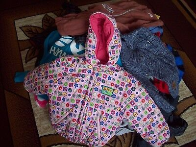 Job Lot of Used Autumn/Winter Children's Clothes 35 items. Mixed Age and Gender