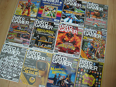 Huge RETRO GAMER MAGAZINE / MAGAZINES Collection - Individual ISSUES 70 - 149