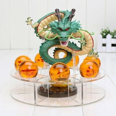 Dragon Ball Z Shenron Action Figure Statue with balls and stand