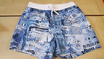 Costume da mare bambino a pantaloncino Scorpion Bay Volley Rock Wa fantasia