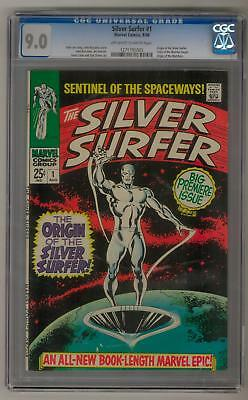 Silver Surfer #1 CGC 9.0 (OW-W) Silver Surfer Origin, Origin of The Watchers
