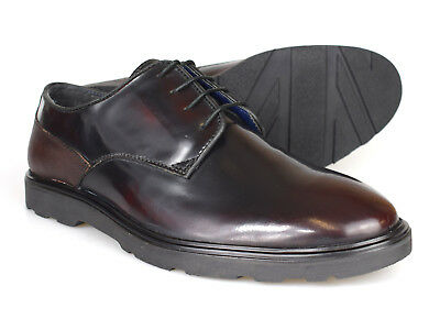 fbd4de3c4436c Silver Street London Ruskin Oxblood Patent Leather Shoes RRP £70 Free UK  P&P!