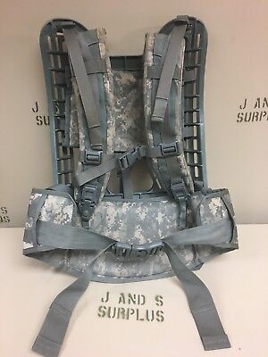 Frame Belt Shoulder Straps System USGI Miltary surplus ACU Digital Camo Molle II
