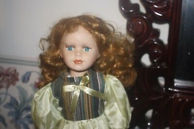 hair styling doll collectible 15 inch porcelain doll the broadway collection 5418