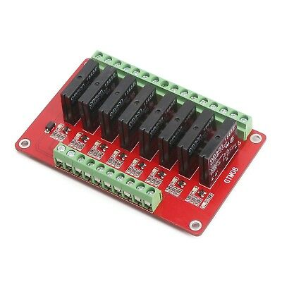 8-Ch Solid State Relay Module Dc 5V 4-Channel Expansion Board High-Level Trigger