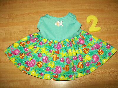 "LIME  MEXICAN FIESTA PARTY DRESS CINCO DE MAYO for 16/"" CPK Cabbage Patch PINK"