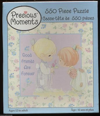 Precious Moments Jigsaw Puzzle Good Friends Are Forever 550 Pieces NEW Sealed