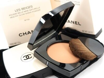 Chanel Les Beiges Healthy Glow Sheer Powder Spf15 No 30 - New