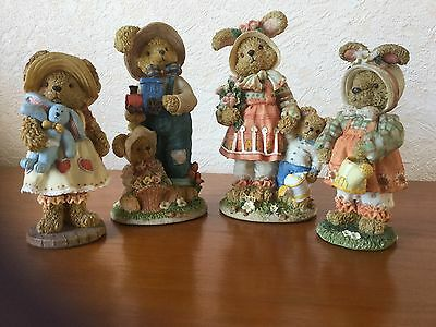 Regency Fine Arts Country Bumpkins ( Rabbit Family)