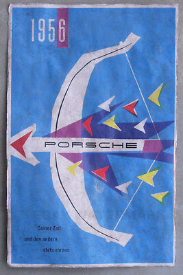 1956 Porsche Bow and Arrow Vintage Advertising Poster 11 x 17 356