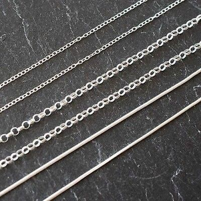 Sterling Silver (925) Jewellery Findings Jewellery Making Chains