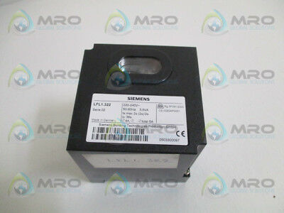 Siemens Lfl1.322 Gas Burner Program Controller *used*