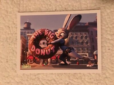 Disney Movie Club Zootopia Lithograph Limited Edition