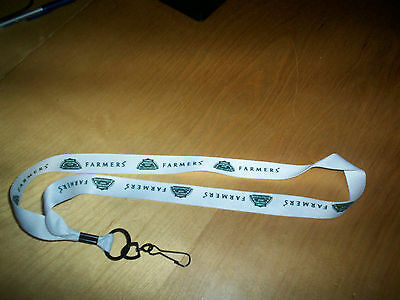 from NASCAR event las vegas farmers' lanyard NEW