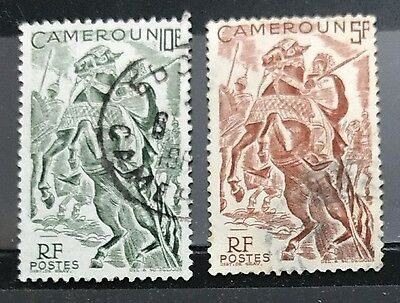 118.cameroon 2 Used Stamps