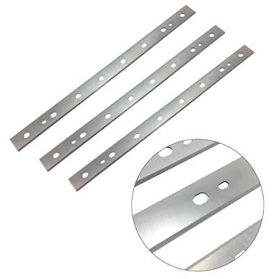 "3pcs 13""Steel Planer Blades Fit for DW735 & DW735X Planer Replaces DW7352 Silver"