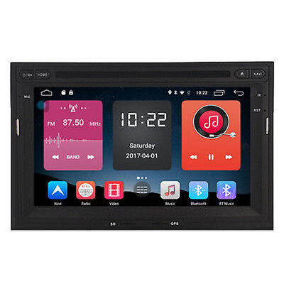 """7"""" Android 6.0 Car DVD Player Radio GPS for Peugeot 3008 5008 Partner Berlingo"""