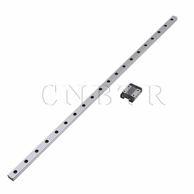 50cm MGN12 Precise Mini Linear Guide Rail Sliding Rails Block Set Silver
