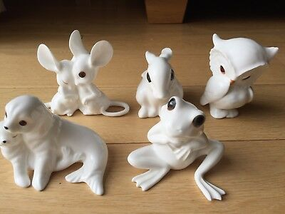 Royal Osbourne Porcelain / Bone China Animal figurines (Set of 5)