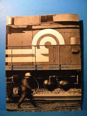 Consolidated Rail Corporation Annual Report 1976 Conrail