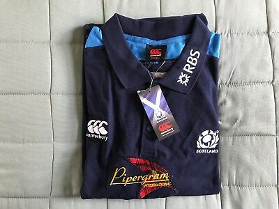 Canterbury 'Scotland' RBS/ Pipergram Int. Rugby Shirt- Size 3XL. New & packaged!