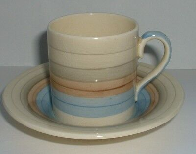 Susie Cooper Crown Works Wedding Band ? Coffee Cup & Saucer