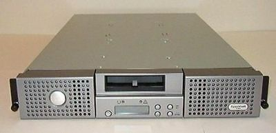 GENUINE Dell PowerVault 124T Tape Autoloader Library with 2 xLTO 4 HH SAS drives