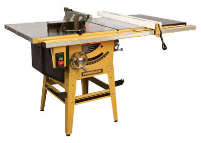 Powermatic 1791229K 1.75HP 115/230V Contractor Table Saw New
