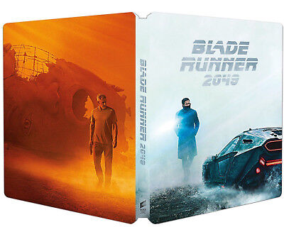BLADE RUNNER 2049 - EDIZIONE STEELBOOK ITALIANA (BLU-RAY) Harrison Ford In Pren.