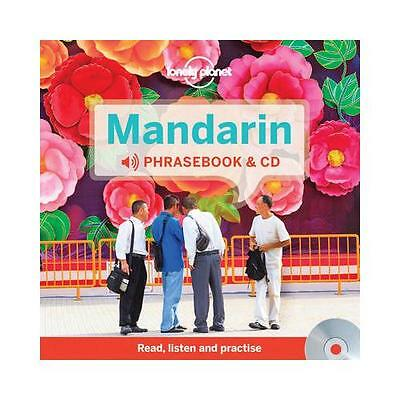 Mandarin Phrasebook & CD by Lonely Planet