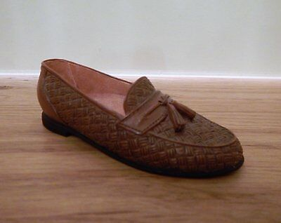 Just The Right Shoe by Raine - Tassel Loafer - 25505 - collectable shoes