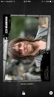 Topps Walking Dead Card Trader Close Up Daryl Dixon