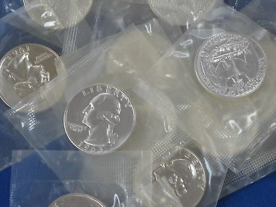 1963 Silver Washington Quarter Sealed Proof Lot Of 15 Coins B5068