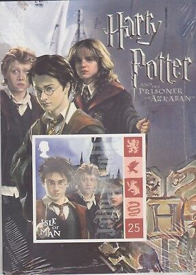 Stamps Isle Of Man Maxi Postcards Set Of 8 Sealed From Harry Potter Collection