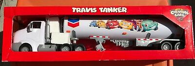 CHEVRON Cars' TRAVIS TANKER Toy Truck New in Original Box