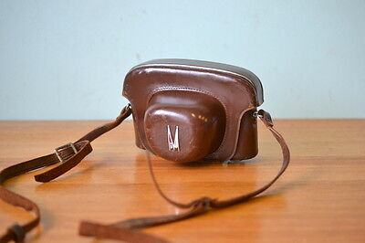 Vintage Mamiya Camera leather case No 1183612 Japan WT1A