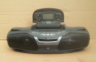 Panasonic  Rx-Ed90 Stereo Boombox Cd  Radio Tape.