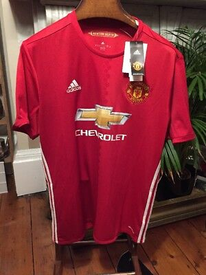 ADIDAS MANCHESTER UNITED football shirt NEW WITH TAGS / size XL