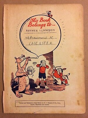 The Dandy Monster Comic Annual Page Only 1940 No2 (beano)