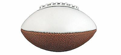 NFL Mini Football American  x 2 Football Superbowl Party Kids Toy Autograph